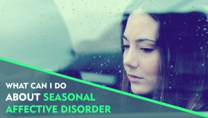 seasonal affective disorder woman looking out window