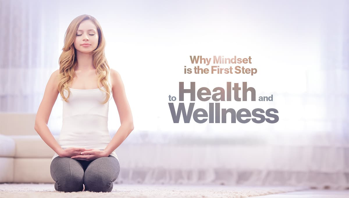 woman meditating mindset