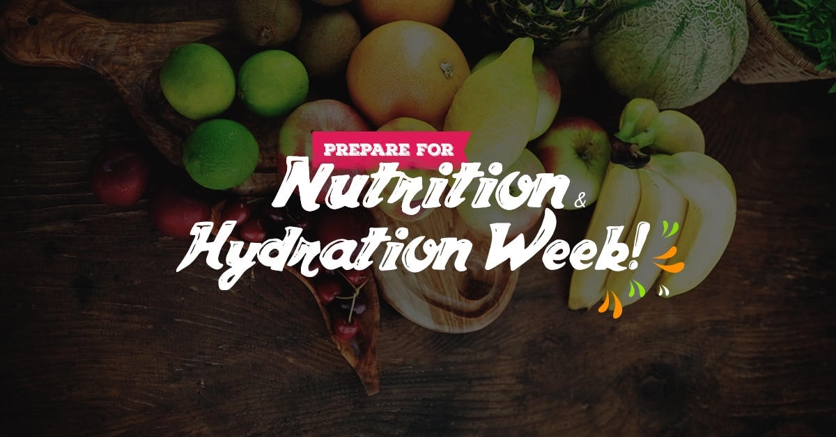 water hydration and fruits and vegetables nutrition