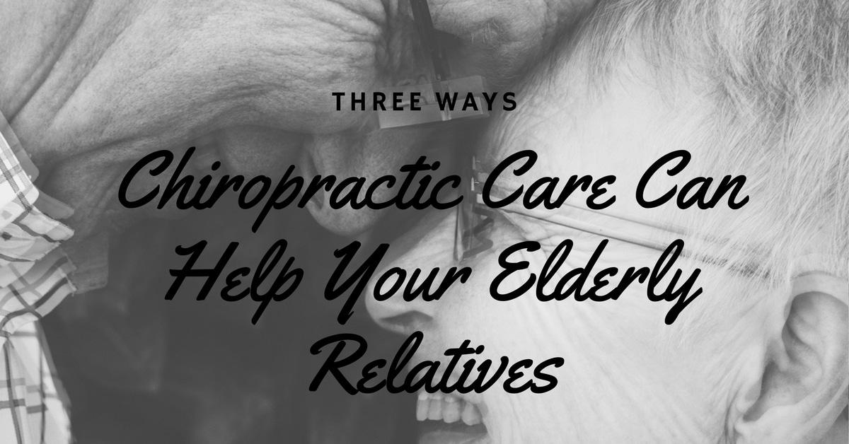Chiropractic for Elderly